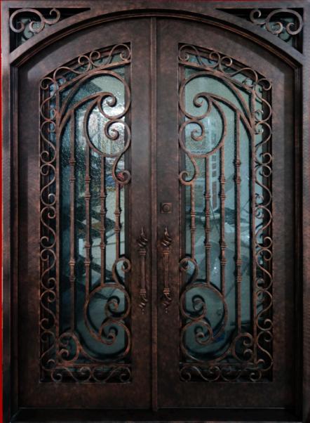 Thermal Break Iron Doors