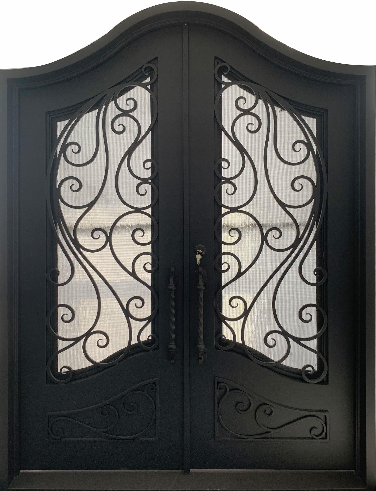Hurricane rated doors, iron door thermal break, north carolina iron doors, design, insulation, entry doors